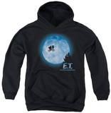 Youth Hoodie: ET - Moon Scene Pullover Hoodie
