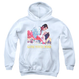 Youth Hoodie: Gone With The Wind - On Fire Pullover Hoodie