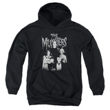 Youth Hoodie: Munsters - Family Portrait Pullover Hoodie