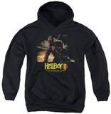 Youth Hoodie: Hellboy II - Poster Art Pullover Hoodie