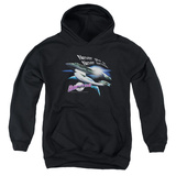 Youth Hoodie: Galaxy Quest - Never Surrender Pullover Hoodie