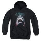 Youth Hoodie: Jaws - Terror In The Deep Pullover Hoodie