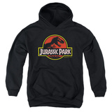 Youth Hoodie: Jurassic Park - Classic Logo Pullover Hoodie