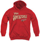Youth Hoodie: Smokey And The Bandit - Sombitch Pullover Hoodie