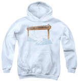 Youth Hoodie: It's a Wonderful Life - Bedford Falls Pullover Hoodie