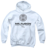 Youth Hoodie: Back To The Future II - Mr. Fusion Logo Pullover Hoodie