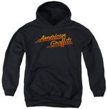 Youth Hoodie: American Grafitti - Neon Logo Pullover Hoodie