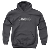 Youth Hoodie: Sons Of Anarchy - Samcro Pullover Hoodie