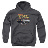 Youth Hoodie: Back To The Future - Time Machine Pullover Hoodie
