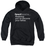 Youth Hoodie: Parenthood - Becoming Your Father Pullover Hoodie