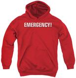 Youth Hoodie: Emergency - Logo Pullover Hoodie