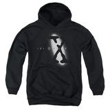 Youth Hoodie: X Files - Spotlight Logo Pullover Hoodie