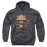 Youth Hoodie: Back To The Future - Items Pullover Hoodie