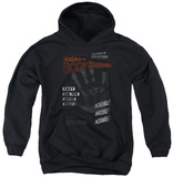 Youth Hoodie: Invasion Of The Body Snatcher - Run Poster Pullover Hoodie