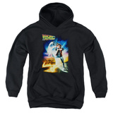 Youth Hoodie: Back To The Future - Poster Pullover Hoodie