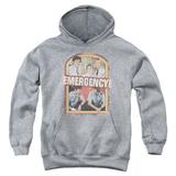 Youth Hoodie: Emergency - Retro Cast Pullover Hoodie