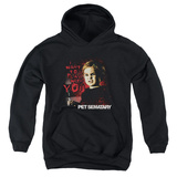 Youth Hoodie: Pet Sematary - I Want To Play Pullover Hoodie
