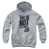 Youth Hoodie: Fight Club - Rule 1 Pullover Hoodie