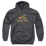 Youth Hoodie: Jurassic Park - Retro Rex Pullover Hoodie