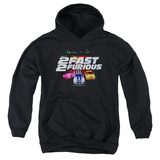 Youth Hoodie: 2 Fast 2 Furious - Logo Pullover Hoodie