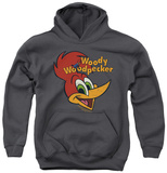 Youth Hoodie: Woody Woodpecker - Retro Logo Pullover Hoodie