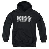 Youth Hoodie: KISS - Heavy Metal Pullover Hoodie