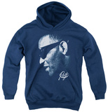 Youth Hoodie: Ray Charles - Blue Ray Pullover Hoodie