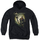 Youth Hoodie: Injustice Gods Among Us - Battle Of The Gods Pullover Hoodie