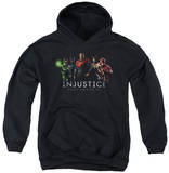 Youth Hoodie: Injustice Gods Among Us - Injustice League Pullover Hoodie