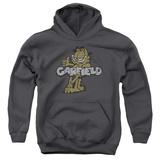 Youth Hoodie: Garfield - Retro Garf Pullover Hoodie