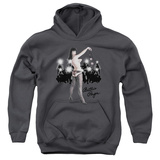 Youth Hoodie: Bettie Page - Paparazzi Pullover Hoodie