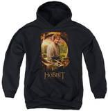 Youth Hoodie: The Hobbit - Bilbo Poster Pullover Hoodie