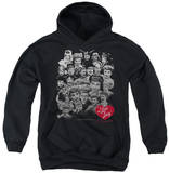 Youth Hoodie: I Love Lucy - 60 Years Of Fun Pullover Hoodie