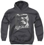 Youth Hoodie: Ray Charles - Signature Glasses Pullover Hoodie