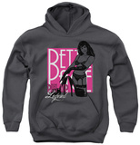 Youth Hoodie: Bettie Page - Pin Up Legend Pullover Hoodie
