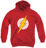 Youth Hoodie: Justice League - Rough Flash Pullover Hoodie