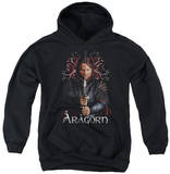 Youth Hoodie: Lord of the Rings - Aragorn Pullover Hoodie