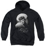 Youth Hoodie: Lucille Ball - Soft Portrait Pullover Hoodie