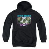 Youth Hoodie: Galaxy Quest - Cute But Deadly Pullover Hoodie