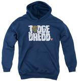 Youth Hoodie: Judge Dredd - Logo Pullover Hoodie