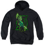 Youth Hoodie: Green Lantern - Fully Charged Pullover Hoodie