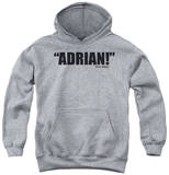 Youth Hoodie: Rocky - Adrian Pullover Hoodie