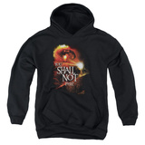 Youth Hoodie: Lord of the Rings - You Shall Not Pass Pullover Hoodie