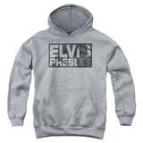 Youth Hoodie: Elvis - Block Letters Pullover Hoodie