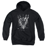 Youth Hoodie: Lord of the Rings - Big Sauron Head Pullover Hoodie