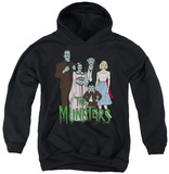 Youth Hoodie: The Munsters - The Family Pullover Hoodie