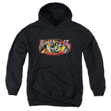 Youth Hoodie: KISS - Stage Logo Pullover Hoodie