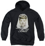 Youth Hoodie: Lucille Ball - Glowing Pullover Hoodie