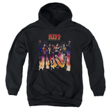 Youth Hoodie: KISS - Destroyer Cover Pullover Hoodie