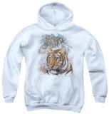 Youth Hoodie: Wildlife - Tigers Pullover Hoodie